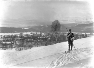 Karłowicz na nartach