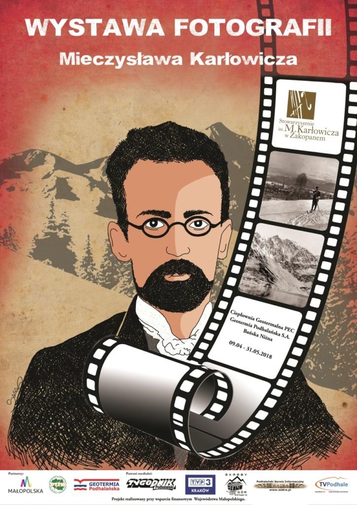 Plakat Wystawy Fotografii Mieczysława Karłowicza