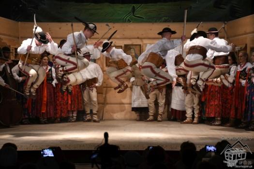 Góralski Karnawał - konkurs tańca zbójnickiego
