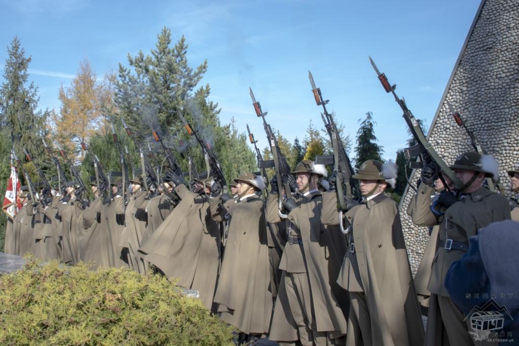 Obchody 100-lecia niepodległości w Bukowinie Tatrzańskiej - Apel Poległych