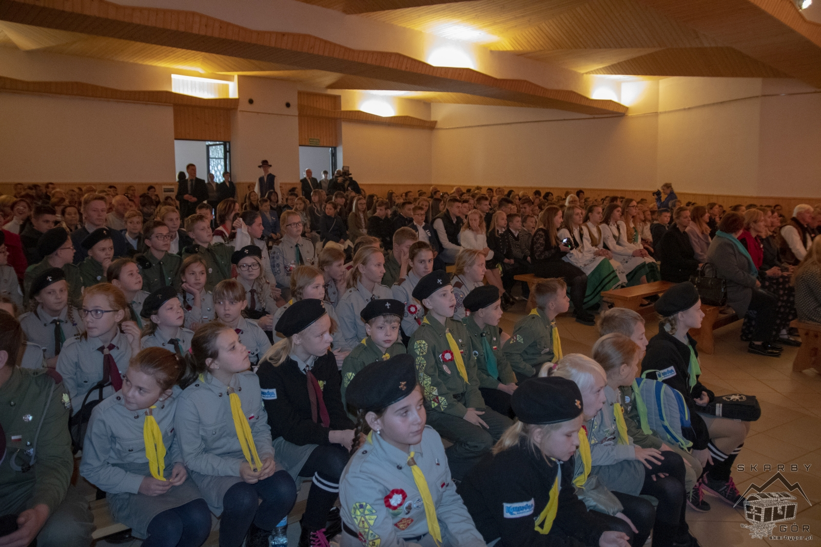 Obchody 100-lecia niepodległości w Bukowinie Tatrzańskiej - Akademia