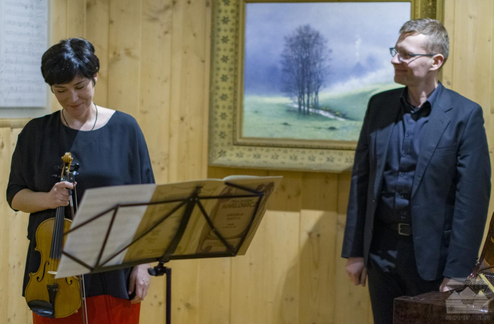 Koncert w 110 rocznicę śmierci Mieczysława Karłowicza Anna Szabelka, Piotr Banasik