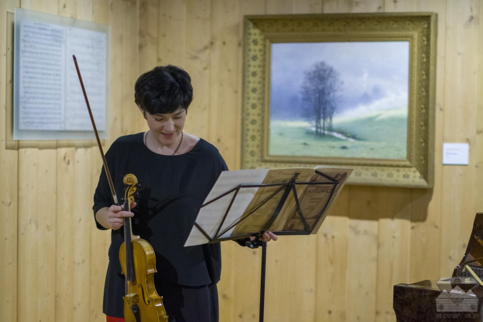 Koncert w 110 rocznicę śmierci Mieczysława Karłowicza Anna Szabelka