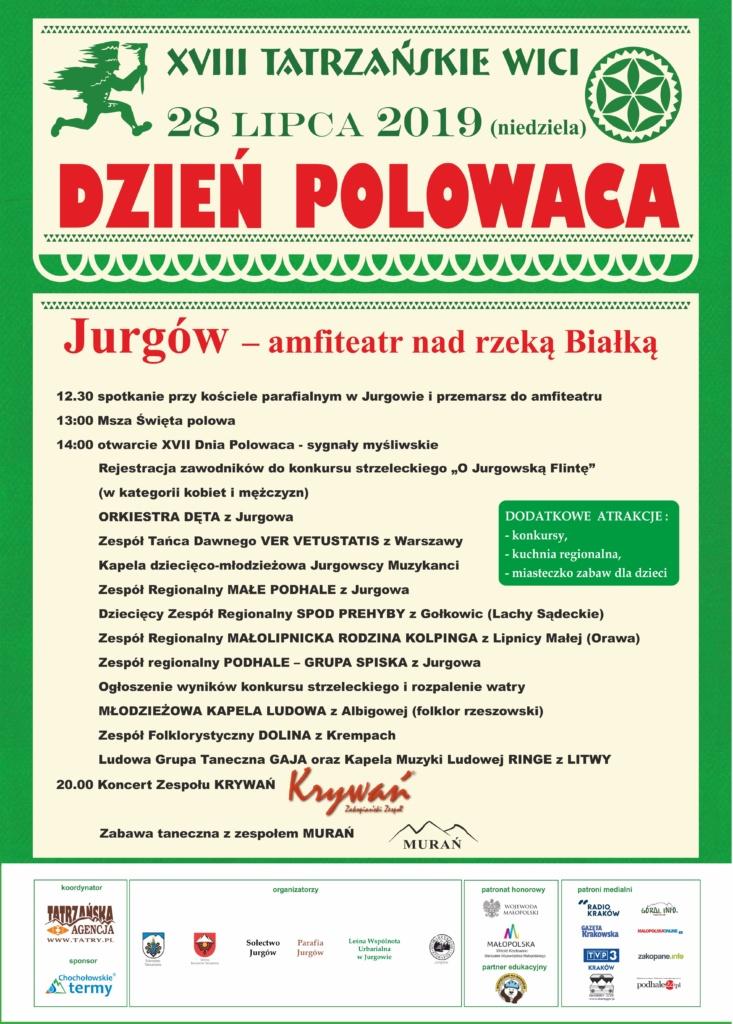 Dzień Polowaca 2019 plakat