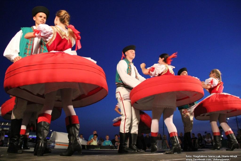 """Zespół regionalny """"Zielony Jawor"""" Międzynarodowy Festiwal w Chorwacji 2019"""