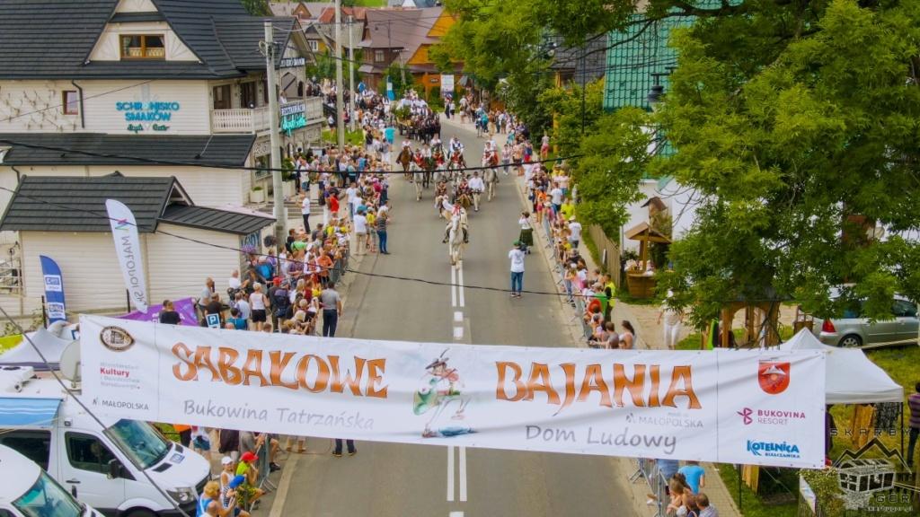 Sabałowe Bajania - Paradny Przejazd
