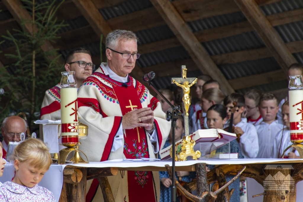 XVII Dzień Polowaca w Jurgowie - Msza Święta polowa