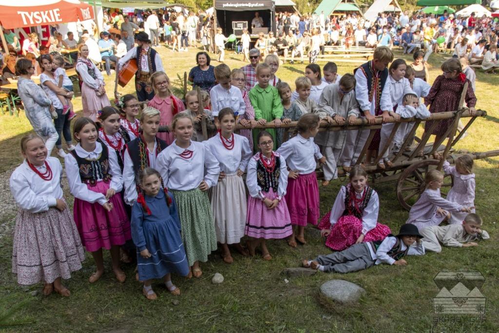 XVII Dzień Polowaca w Jurgowie - Dziecięcy Zespół Regionalny SPOD PREHYBY z Gołkowic