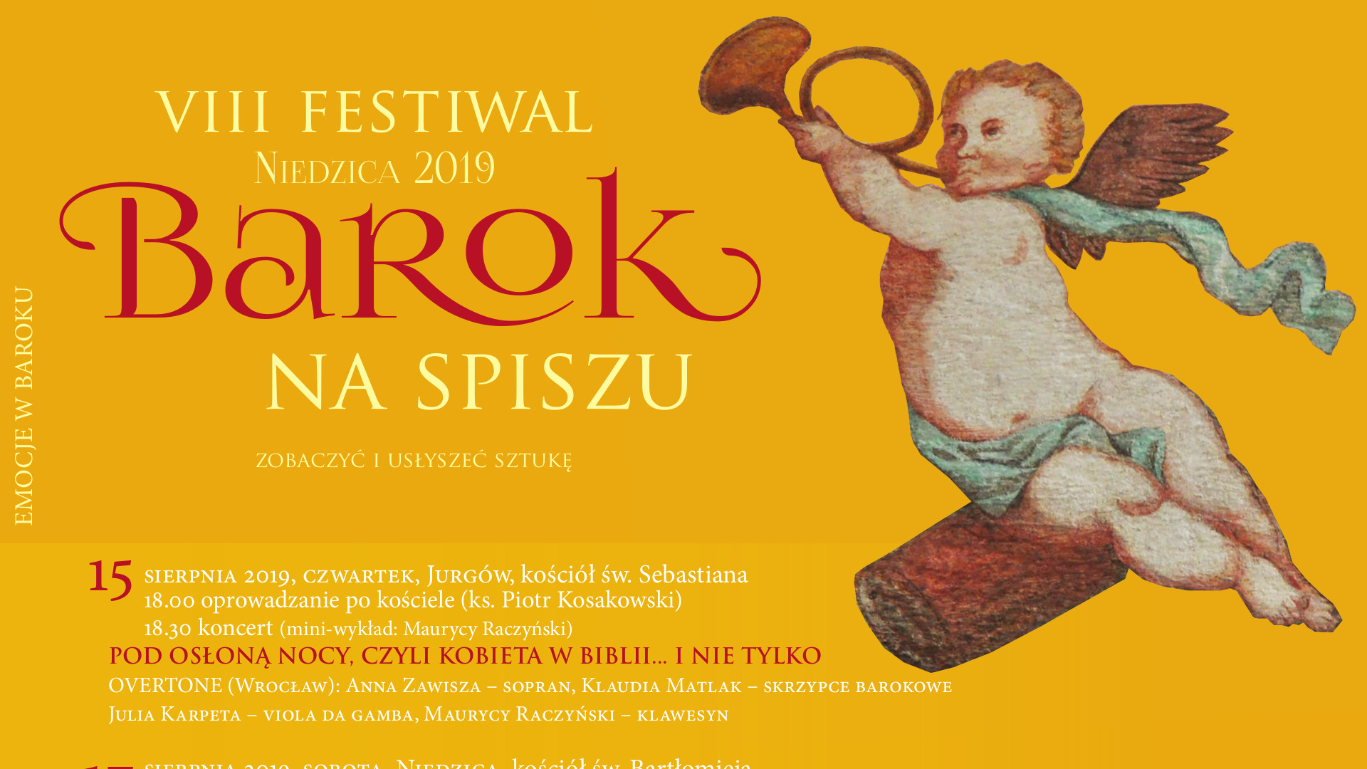 VIII Festiwal Barok na Spiszu 2019 - Jurgów
