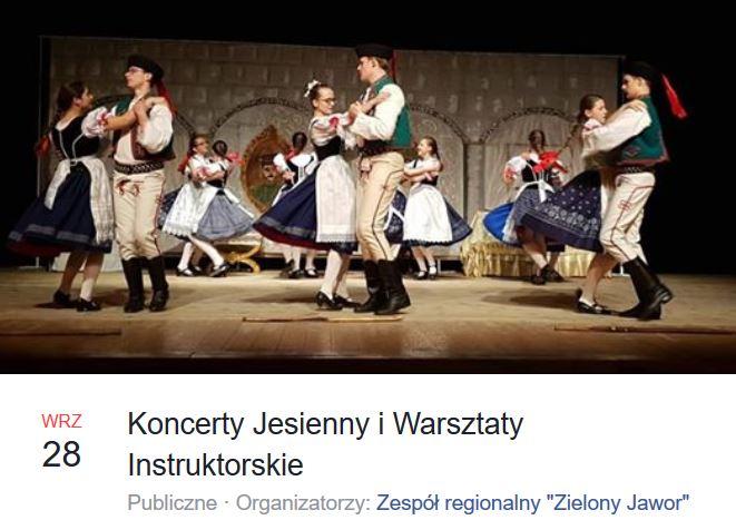 Koncerty Jesienny i Warsztaty Instruktorskie