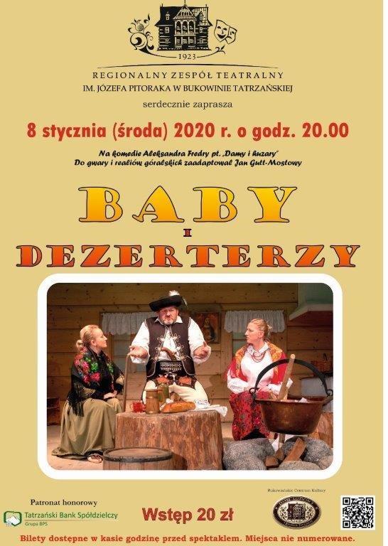 20.01.08 Baby i Dezerterzy - plakat