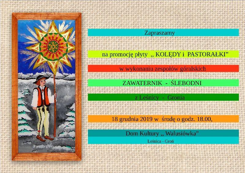Promocja płyty w Leśnicy-Groniu