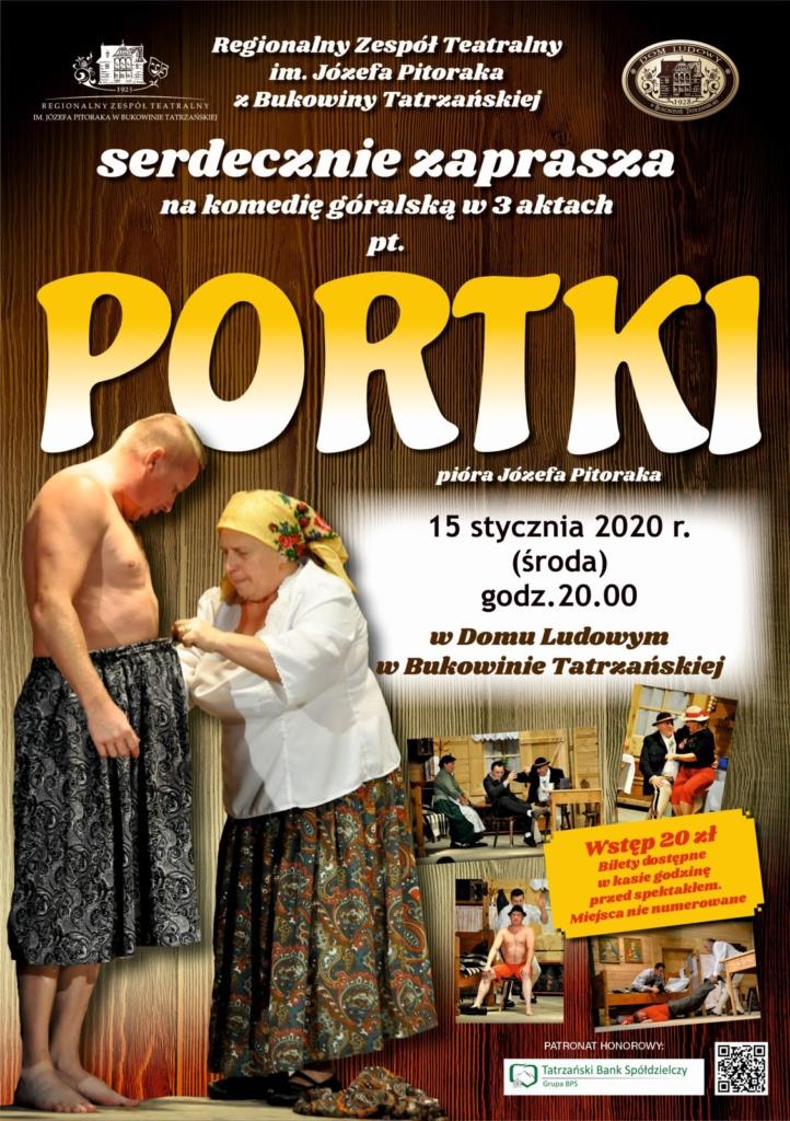 Portki - plakat