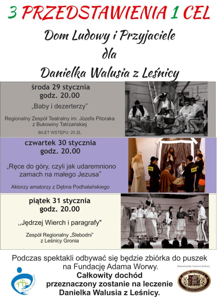 Dla Danielka Walusia - czwartek plakat