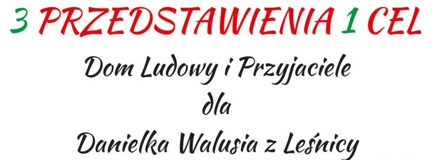 Dla Danielka Walusia - mały plakat