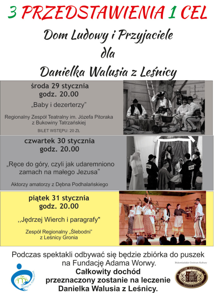 Dla Danielka Walusia - piątek plakat