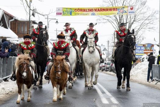 Paradny przejazd - 48 Góralski Karnawał