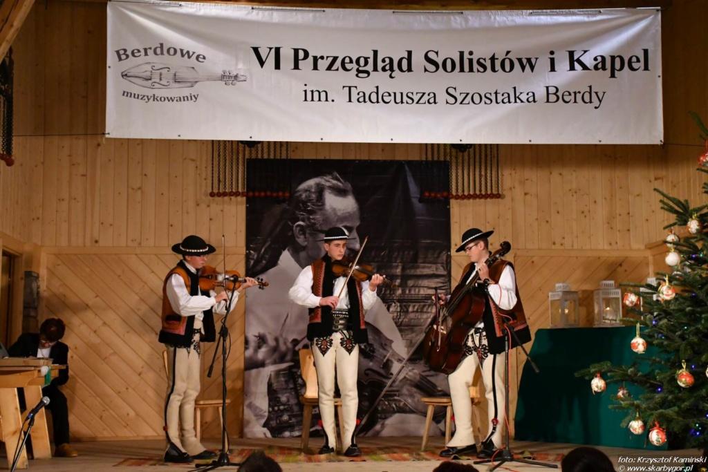 VI. Przegląd Solistów i Kapel im. Tadeusza Szostaka Berdy – Berdowe Muzykowaniy 2017