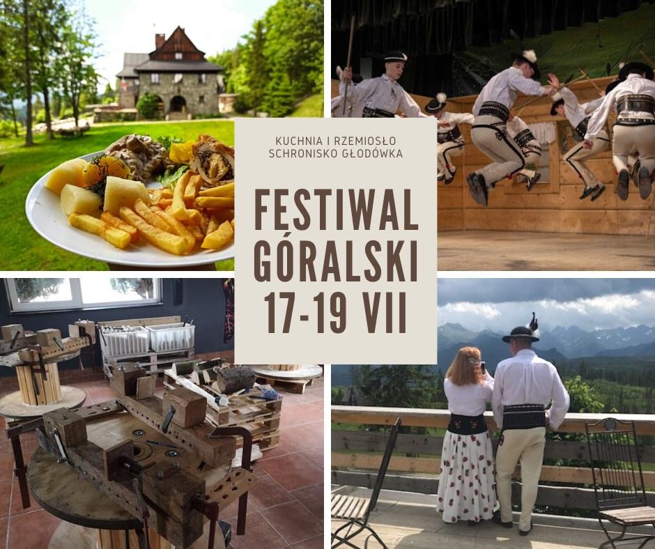 Schronisko Głodówka - festiwal góralski