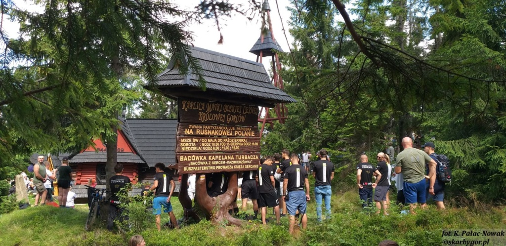 Msza Święta Ludzi Gór na Turbaczu