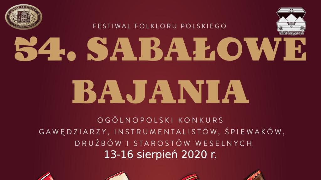 54. Sabałowe Bajania 2020 r.