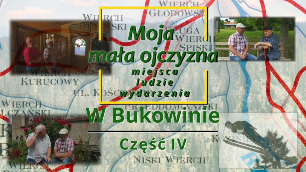 """""""Moja mała ojczyzna – miejsca, ludzie, wydarzenia - W Bukowinie"""""""