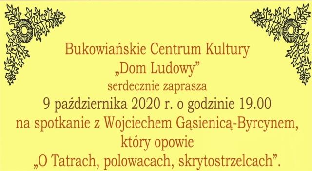 """""""Między nami pod Tatrami"""" – """"Tatry, polowace, skrytostrzelcy"""""""