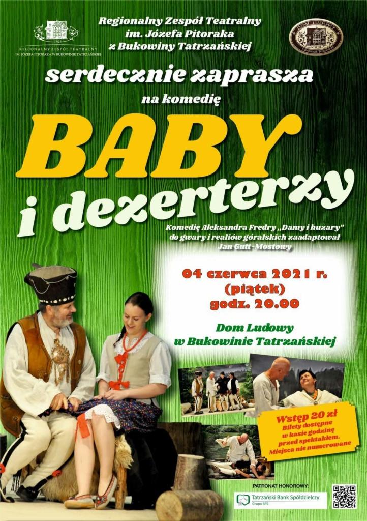Baby i Dezerterzy - plakat