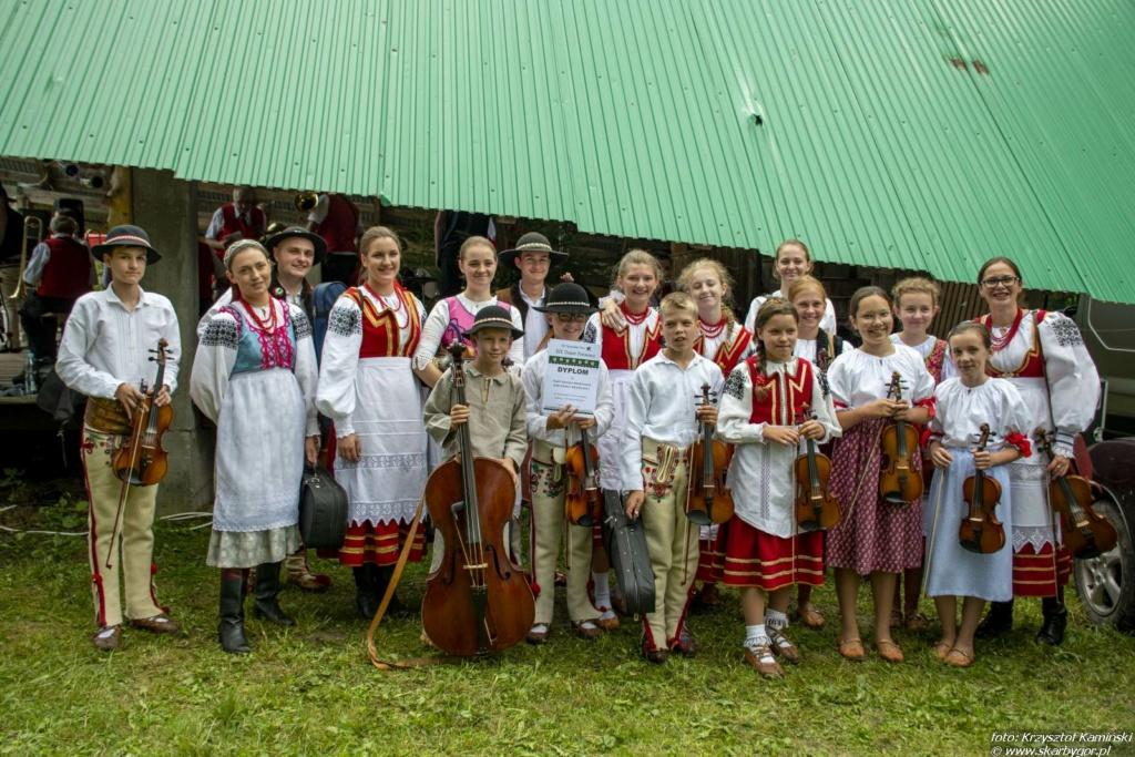XIX Dzień Polowaca w Jurgowie - Kapela dziecięco-młodzieżowa Jurgowscy Muzykanci