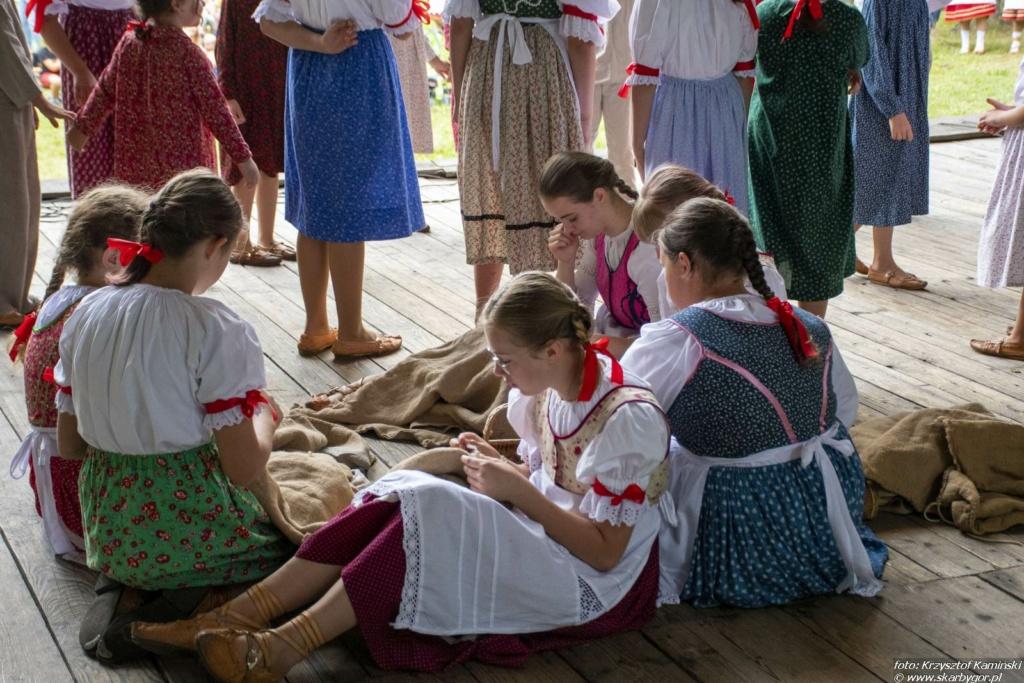 Zespół Regionalny Mali Jurgowianie na XIX Dniu Polowaca w Jurgowie