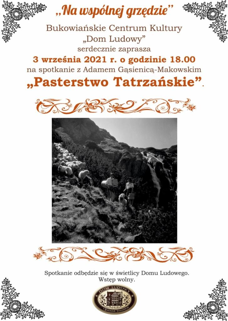 Na Wspólnej Grzędzie - Pasterstwo Tatrzańskie