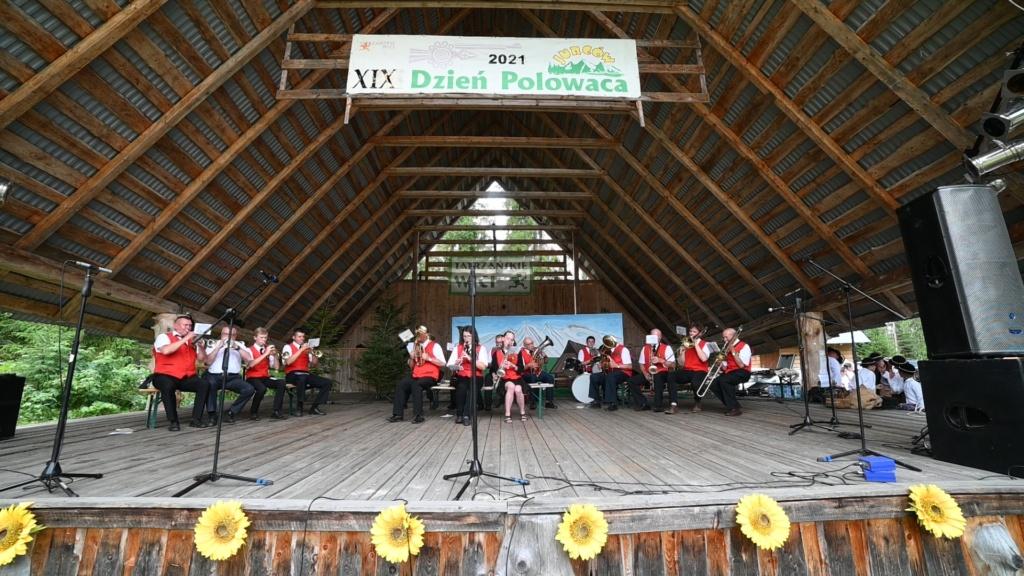 Orkiestra Dęta z Jurgowa - XIX Dzień Polowaca w Jurgowie