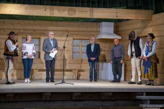 Zakończenie 36. Międzywojewódzkiego Sejmiku Wiejskich Zespołów Teatralnych