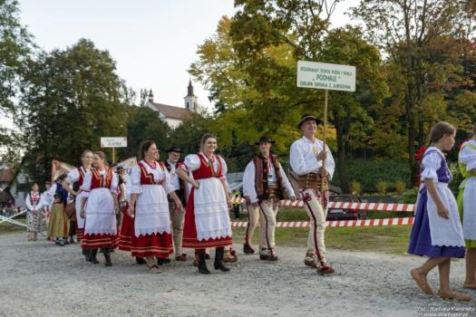Festiwal Lachów i Górali - korowód 10.09.2021